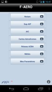 F-AERO sous Android